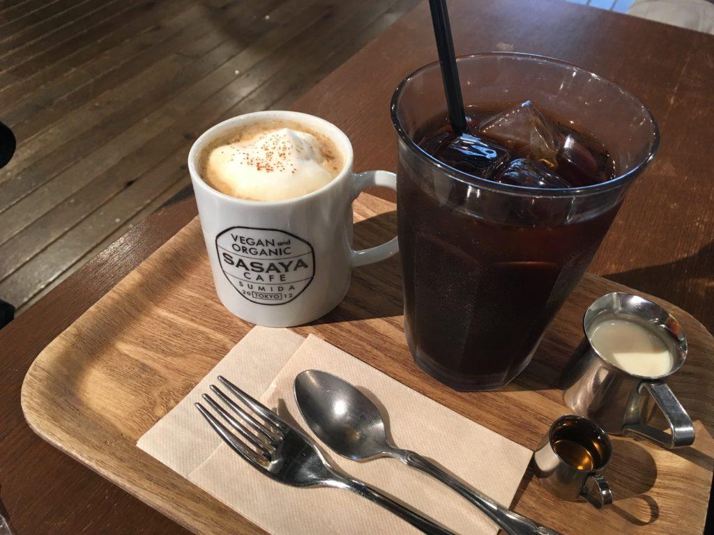 ささやカフェ コーヒー