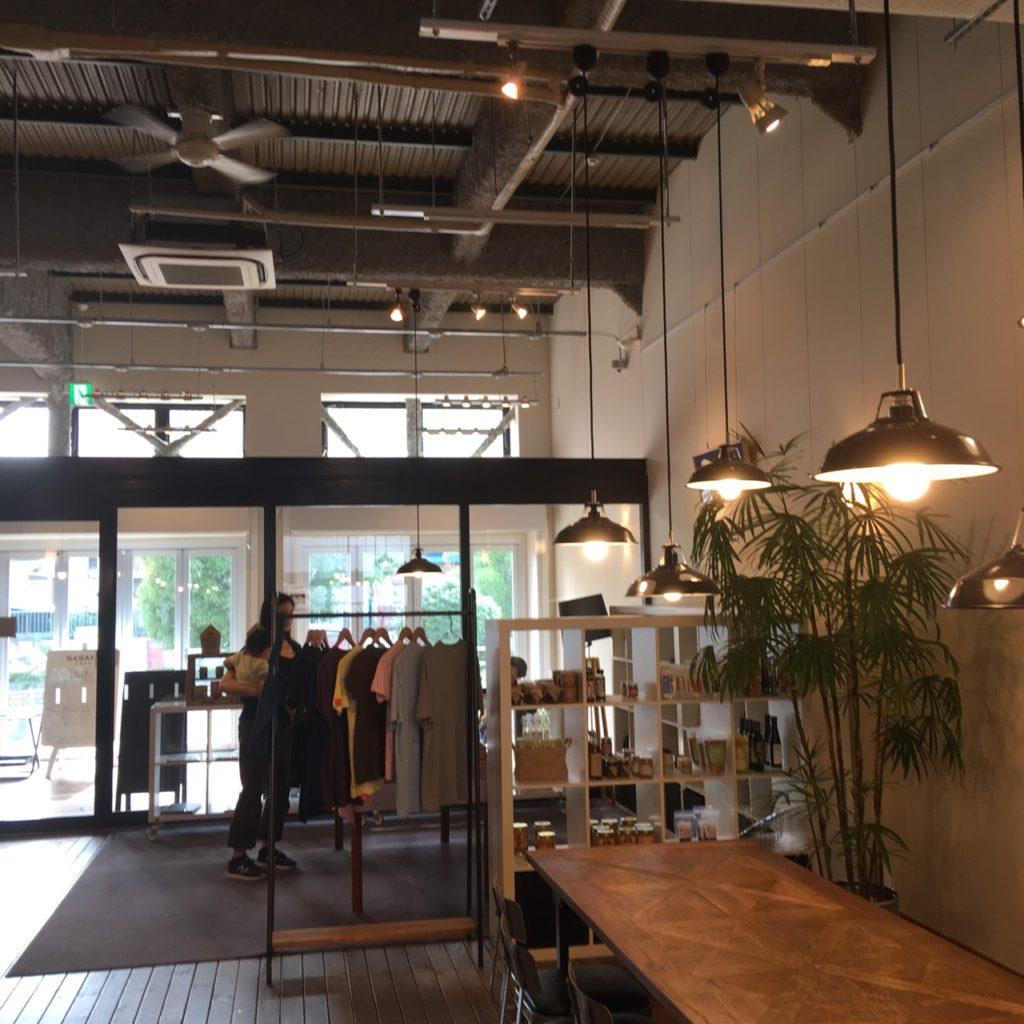 ささやカフェ 物販スペース