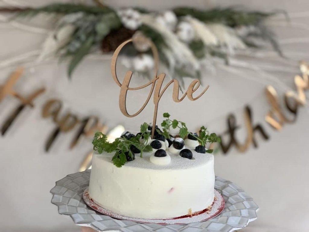 ケーキトッパー 誕生日フォト